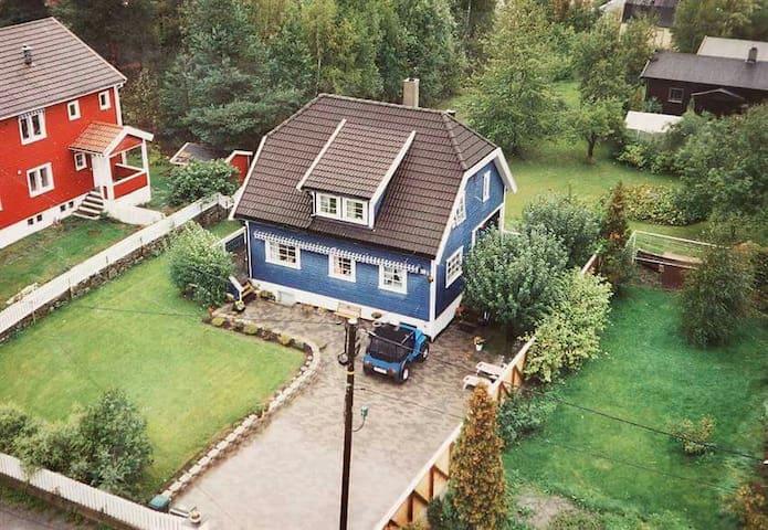 Hus med 3 etg, hage, trampoline - Oslo - Casa