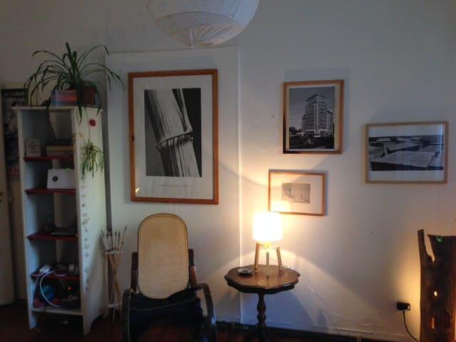 ruhige Altbauwohnung mit Garten - Dossenheim - 公寓