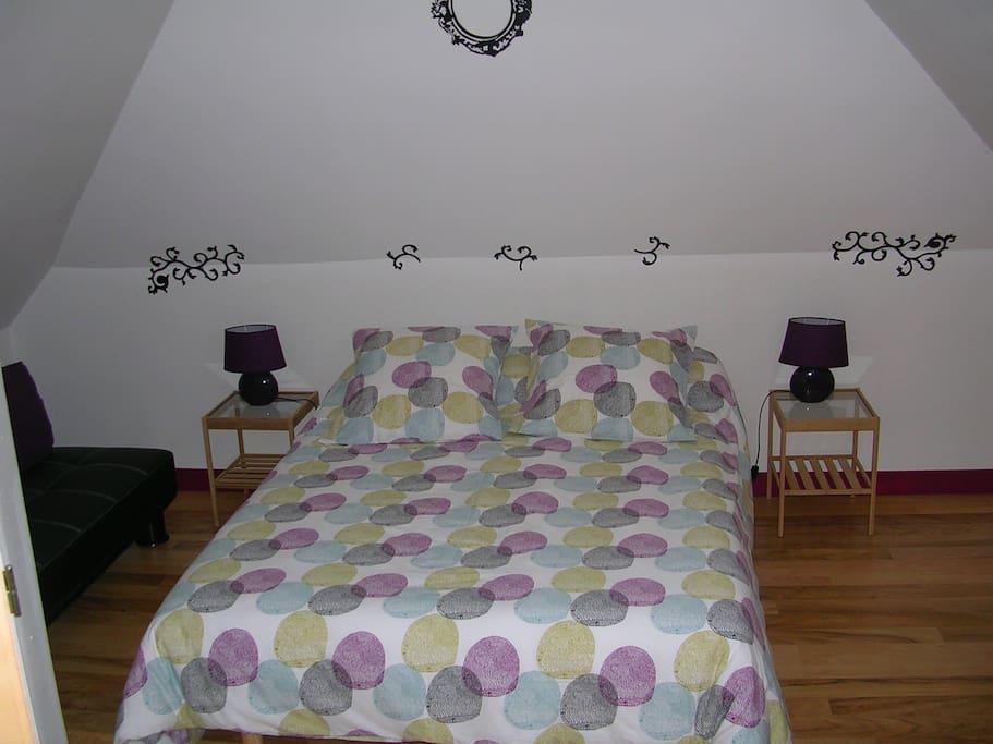 Chez pimline chambre brotonne chambres d 39 h tes louer for Chambre d hote haute normandie