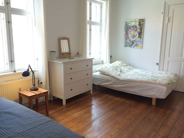 25m2 spatious and cosy room