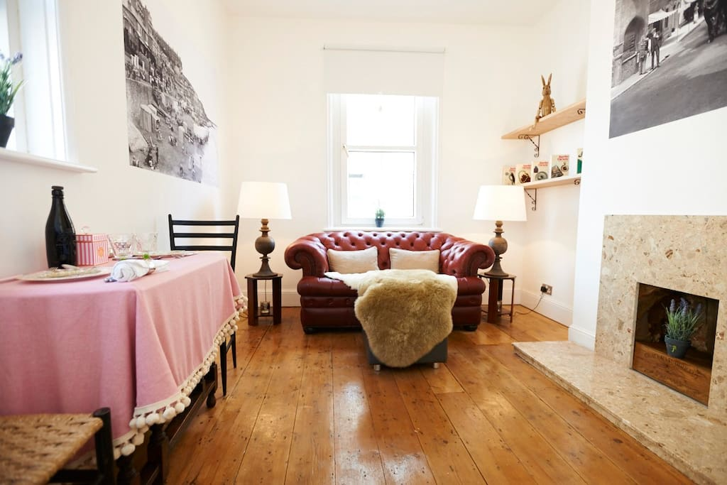 Relax in our cosy front room.....