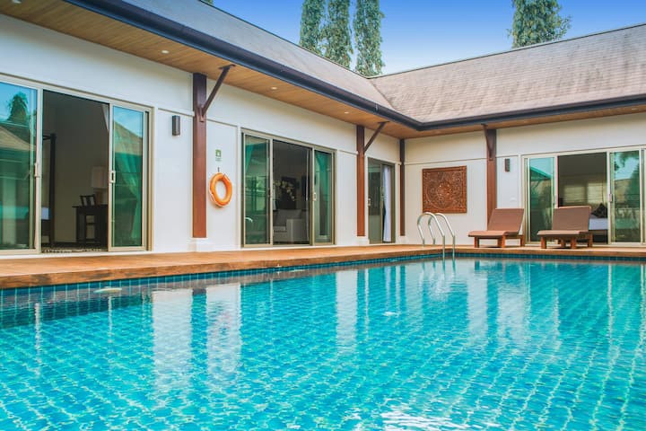 VD4: Oriental Villa 1BR Private Pool-Naiharn Beach