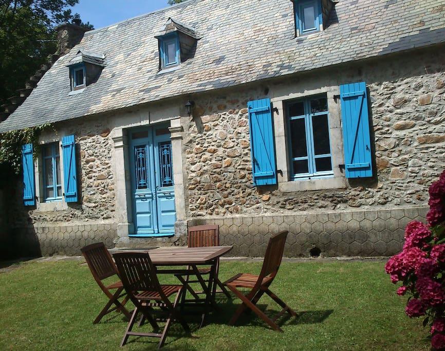 Une maison typique de la vallée des Baronnies