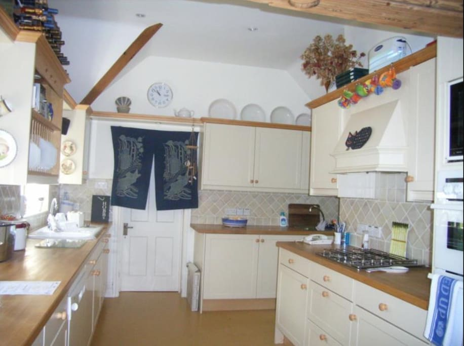 Very efficient fully equipped kitchen