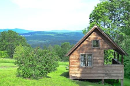 A Simple Cabin at Four Springs Farm - Royalton