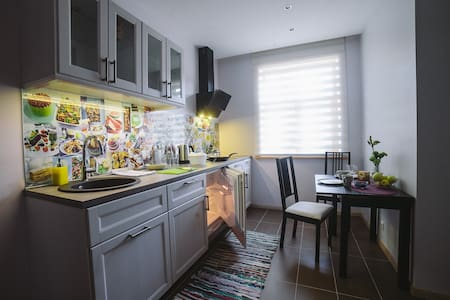 Cozy Studio Apart in Private House with parking - Lejlighed