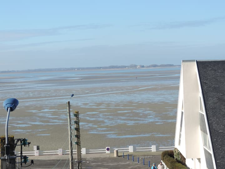 Appartement vue Baie de Somme. Superbe terrasse