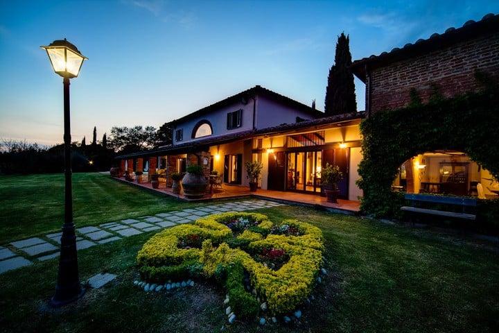 Villa i Cerri, oasis of peace.