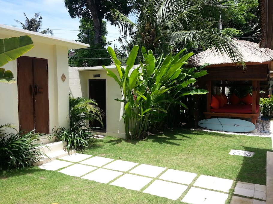 Entrance villa ShaTo