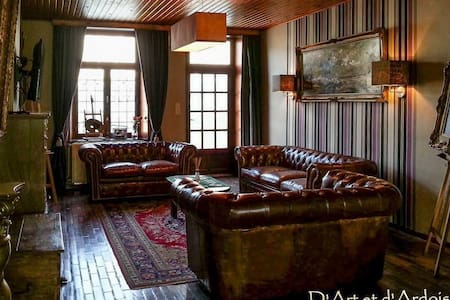 Country Guest House: D'Art et d'Ardoise - Winenne