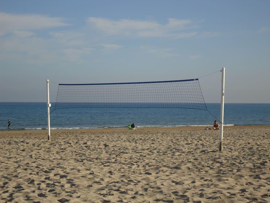 Playas perfectas para una buena meditaciõn y hacer deportes.