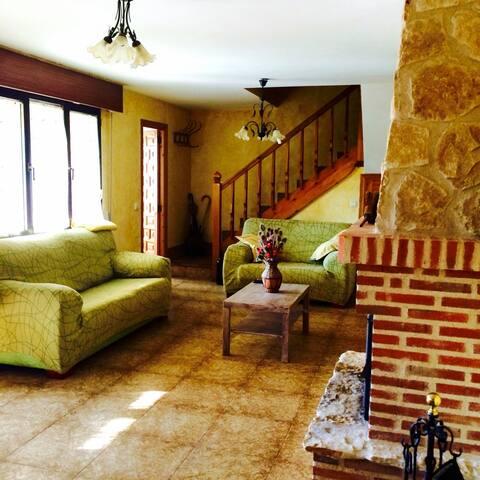 Casa Wily en Ribera del Duero. Jardín. 4 personas