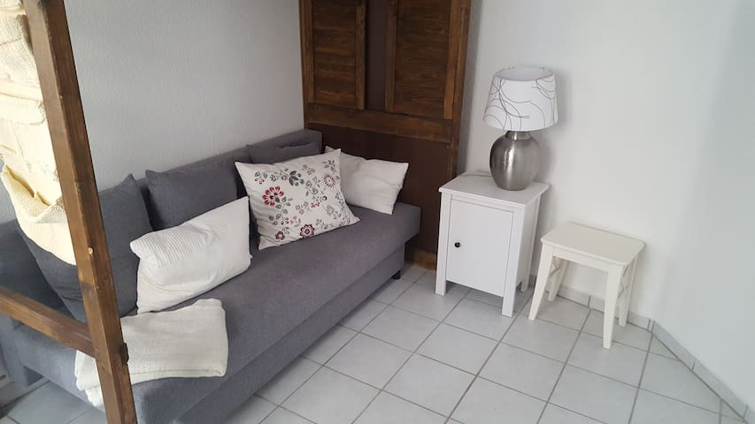 Small apartment very close to trade fair