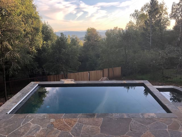 Spectacular Stone Pool/Spa with Views;  Near Plaza