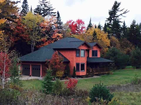 Adirondack Placid Valley Home: Breath in Nature