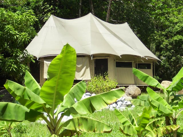 Ambazaman glamping at CitrusCreekPlantation - La Plaine - Casa