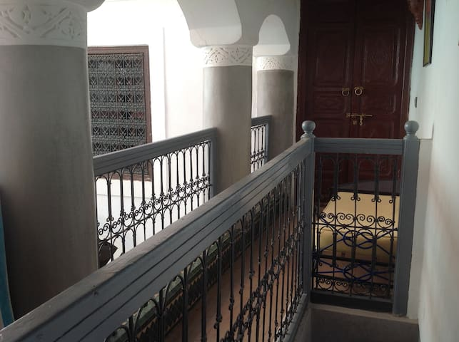 Traditional moroccan riad (single room)