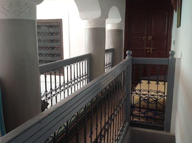 Traditional moroccan riad (single room)