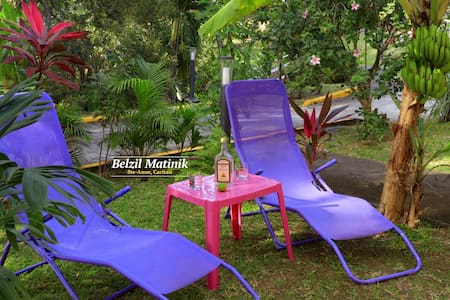 studio bord de mer et parc tropical - Sainte-Anne