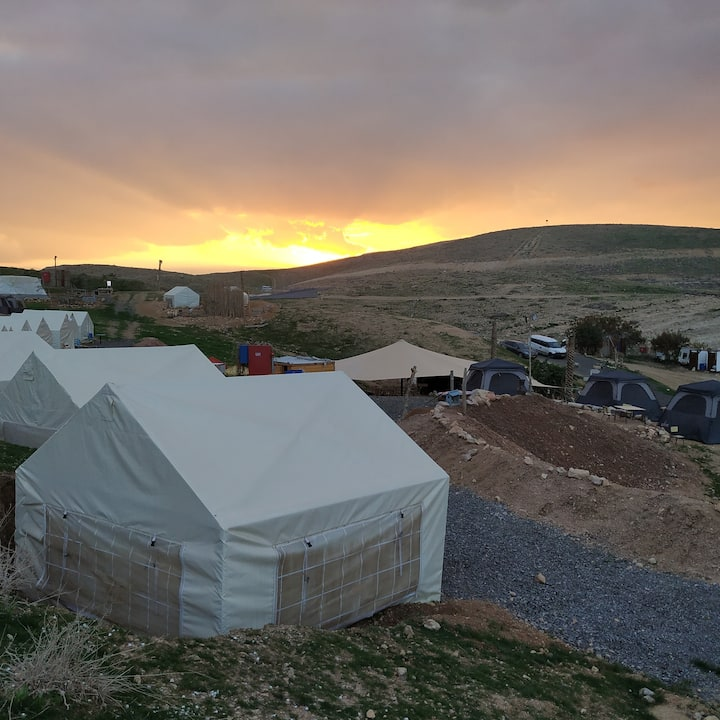 Desert Camping Israel - The Fox's Den