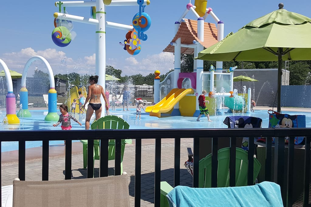 Splash pad for the younger kids (please see pricing for wristbands)
