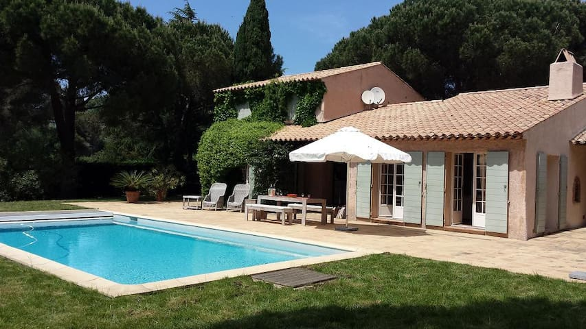 Villa, private pool, beach,  Cote d' Azur