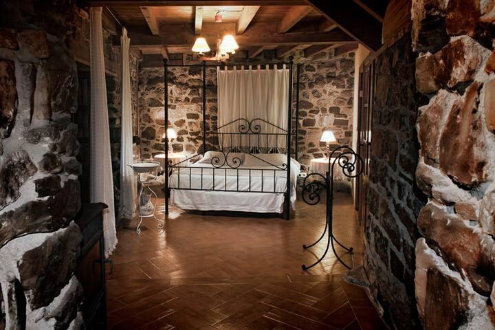 Casa rural en plena montaña asturiana