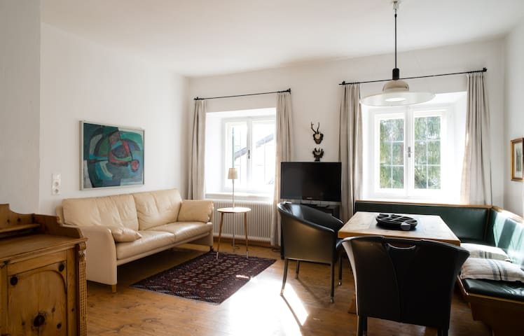 Apartment for up to 3 people with swimming pool - Telfes im Stubai - Apartamento com serviços incluídos