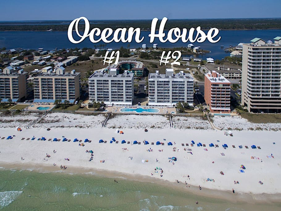 Welcome to your condo at Ocean House in Gulf Shores - direct beachfront!