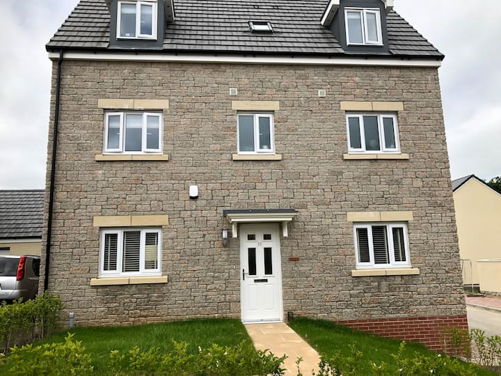 Brand new 4 bedroom luxurious detached home