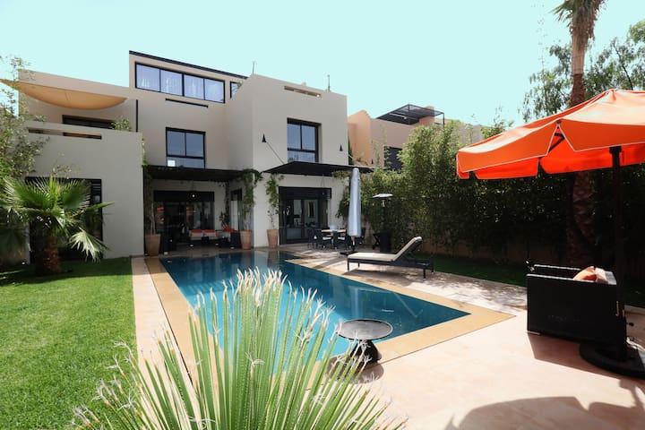 Villa Ryad 46 Dar lamia plénitude - Marràqueix - Casa