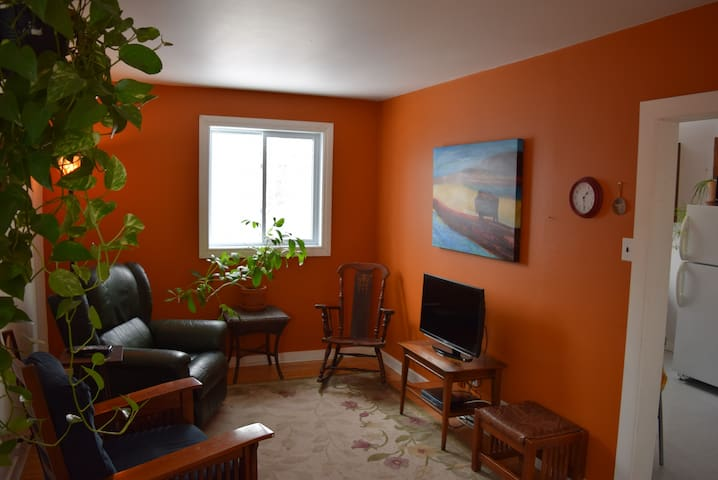Private suite located in beautiful Wolseley area - Winnipeg - Apartment