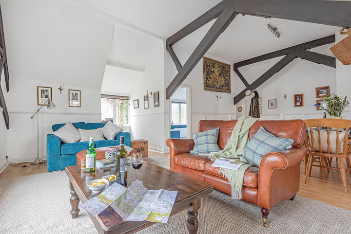 The  Belfry, luxury apartment, Dartmoor, Devon.