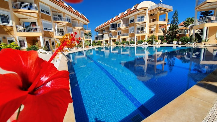 New dublex flat in the center of Kemer with wi-fi