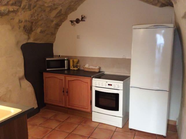 MAISON DE VILLAGE À 10km D'UZES - Garrigues-Sainte-Eulalie - House