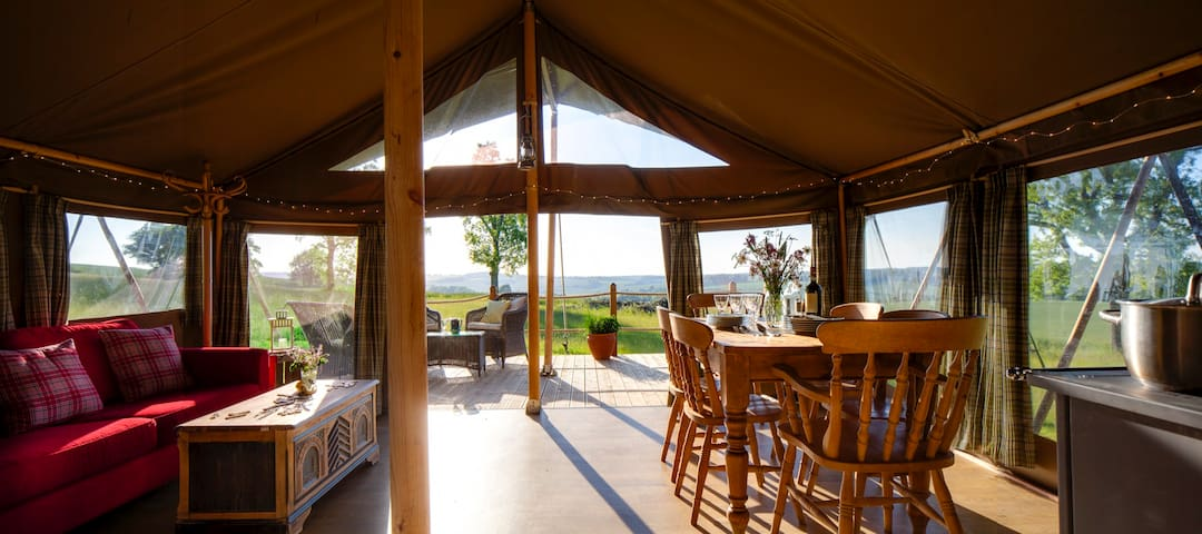 Yellowhammer - Luxury safari tent, stunning views - Petersfield - Tienda de campaña