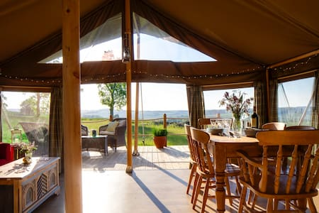 Yellowhammer - Luxury safari tent, stunning views - Petersfield - Stan