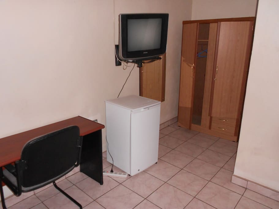 Superior Double rooms with Refrigerator & study Table.