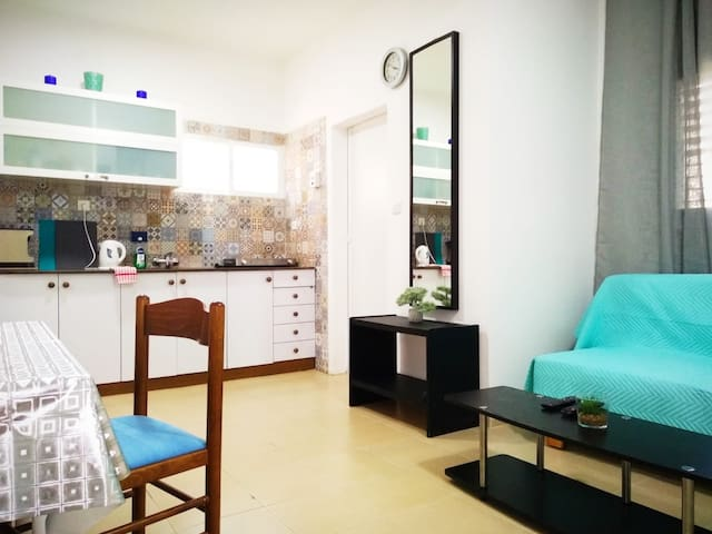 Super one bedroom ap. near the sea and the Rambam