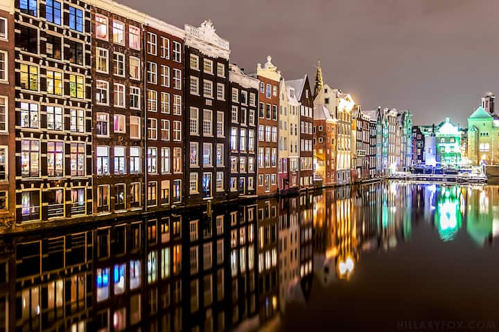 Beautiful Canal Houses