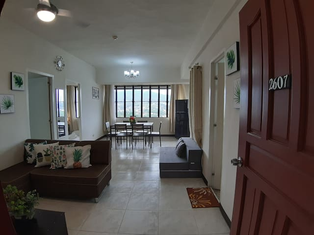 Two Bedroom Mountainview Flat 2607 in Cebu City
