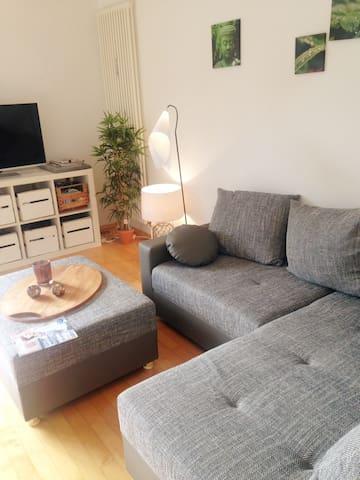 Moderne & schöne Whg mit Parkplatz - Munich - Apartemen