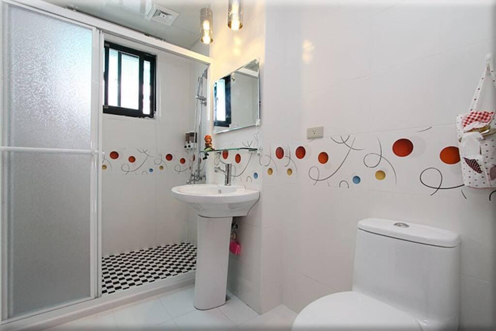 2B二人房浴室