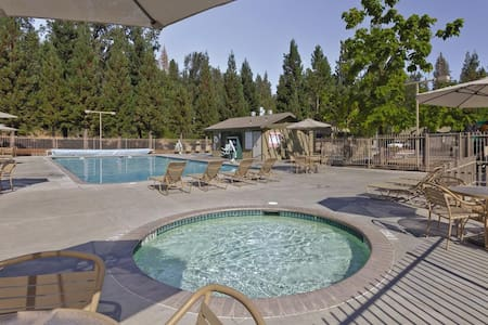 Yosemite close Bass Lake 2 bedroom up to 7 ppl - Bass Lake