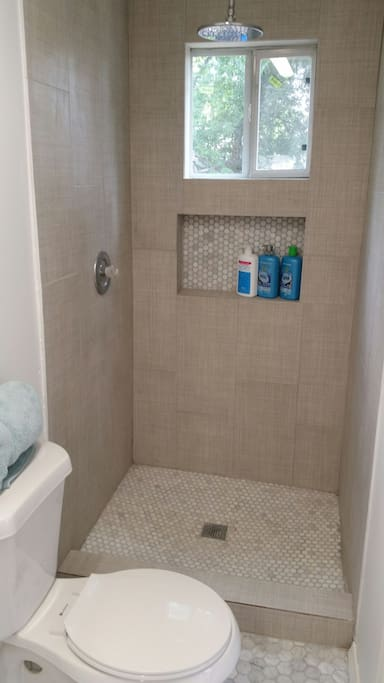 Newly redone bathroom