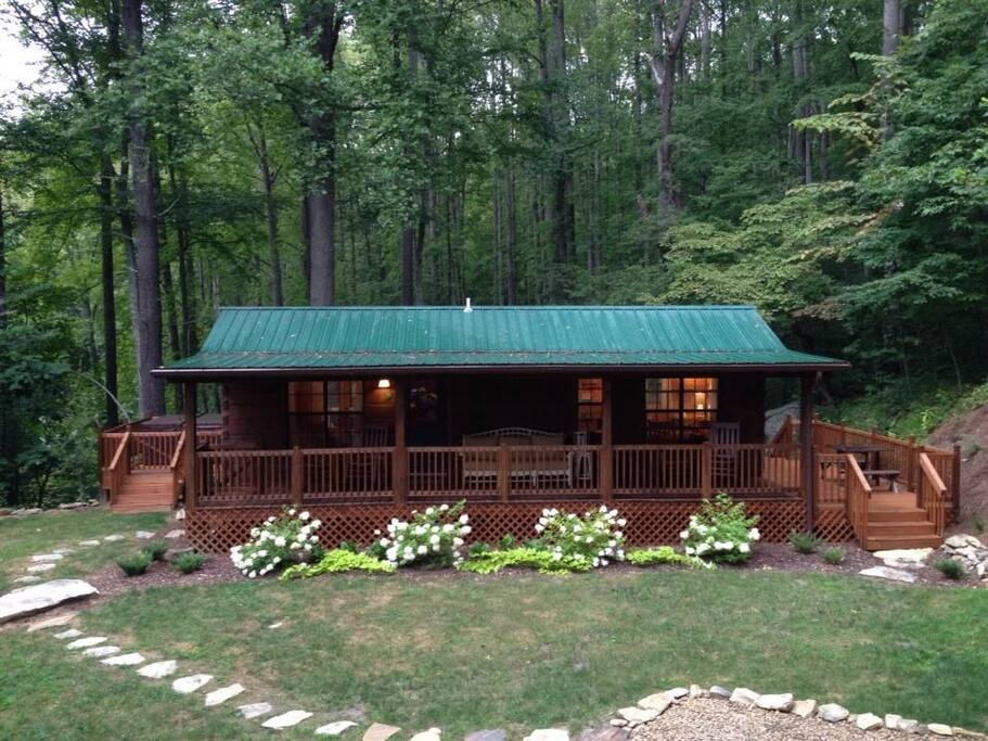 the fox and the fawn cabins for rent in hot springs