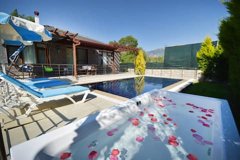 Private Secluded Villa in Kayakoy for 4 People