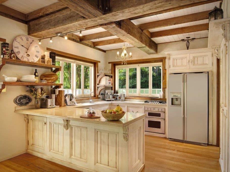 Luxury kitchen at Belle Grove Cottage