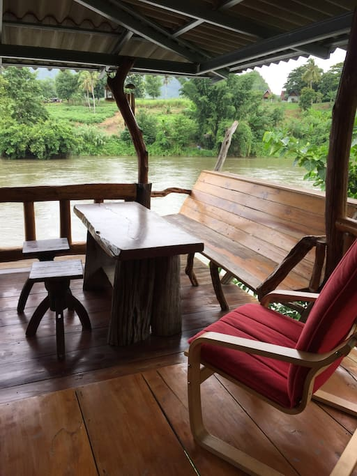 Balcony by River Kwai.