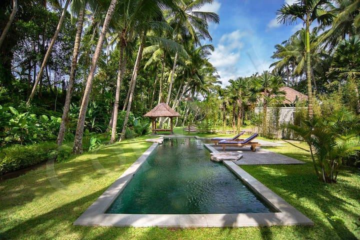 Desa Kerasan community pool